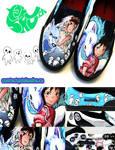 Princess Mononoke / Spirited Away Shoes
