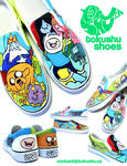 Adventure Time Shoes!