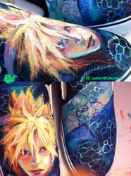 Final Fantasy Cloud Shoes by artsyfartsyness