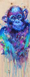 Space Apez by artsyfartsyness