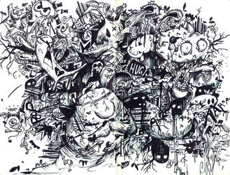 bighugedoodle by artsyfartsyness