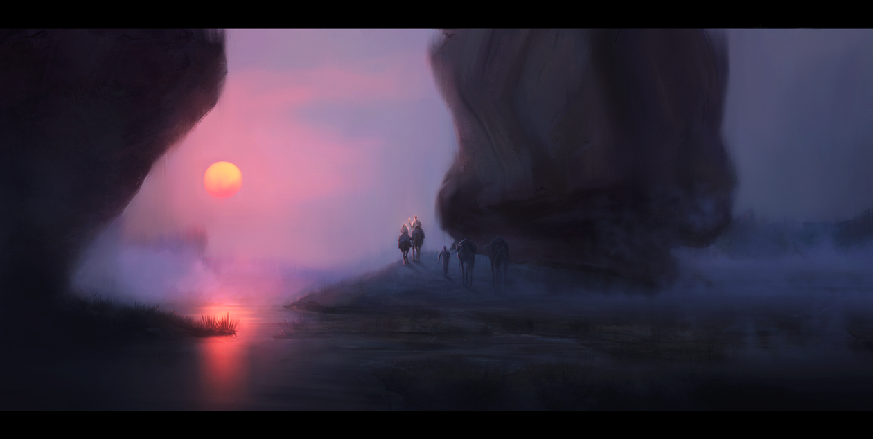 Desert path by Safarzade