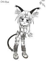 Chibi Aya Kuramoto by RedW0lf777sg