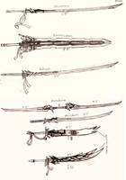 Weapon Concept Art: Swords (Part I)