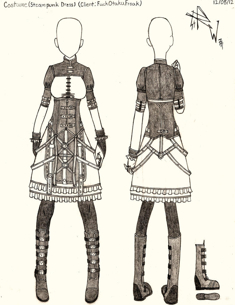 Costume (Steampunk Dress) by RedW0lf777sg on DeviantArt
