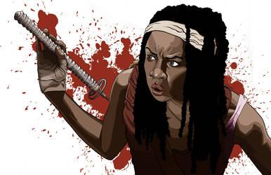Michonne by RyanGiovinco