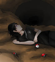 Kuro (The Cave) by EpikalStorms