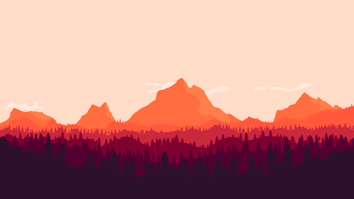 Mountain desktop by xana seraphi on deviantart for Going minimalist