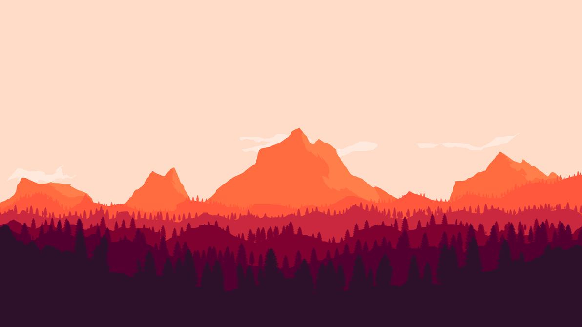 Great Wallpaper Mountain Art - mountain_desktop_by_xana_seraphi-d8d27ev  Graphic_74421.png