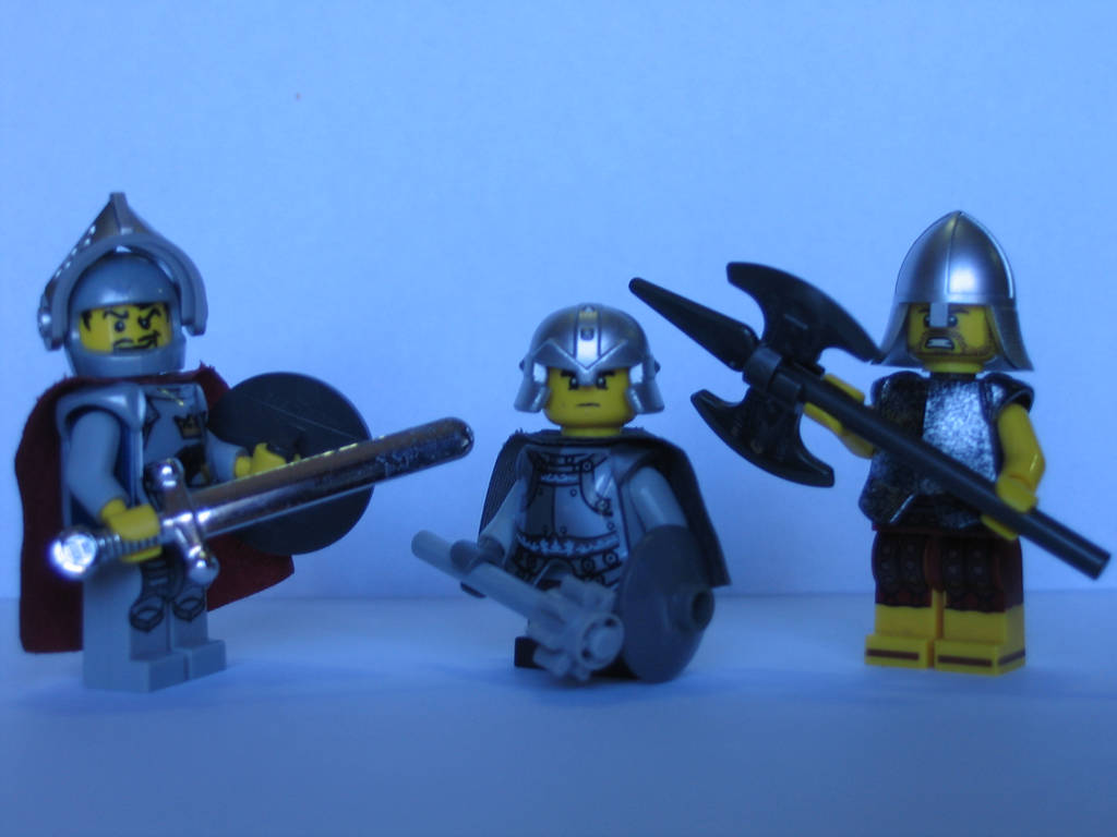 LEGO: The Paladins Three by DWestmoore