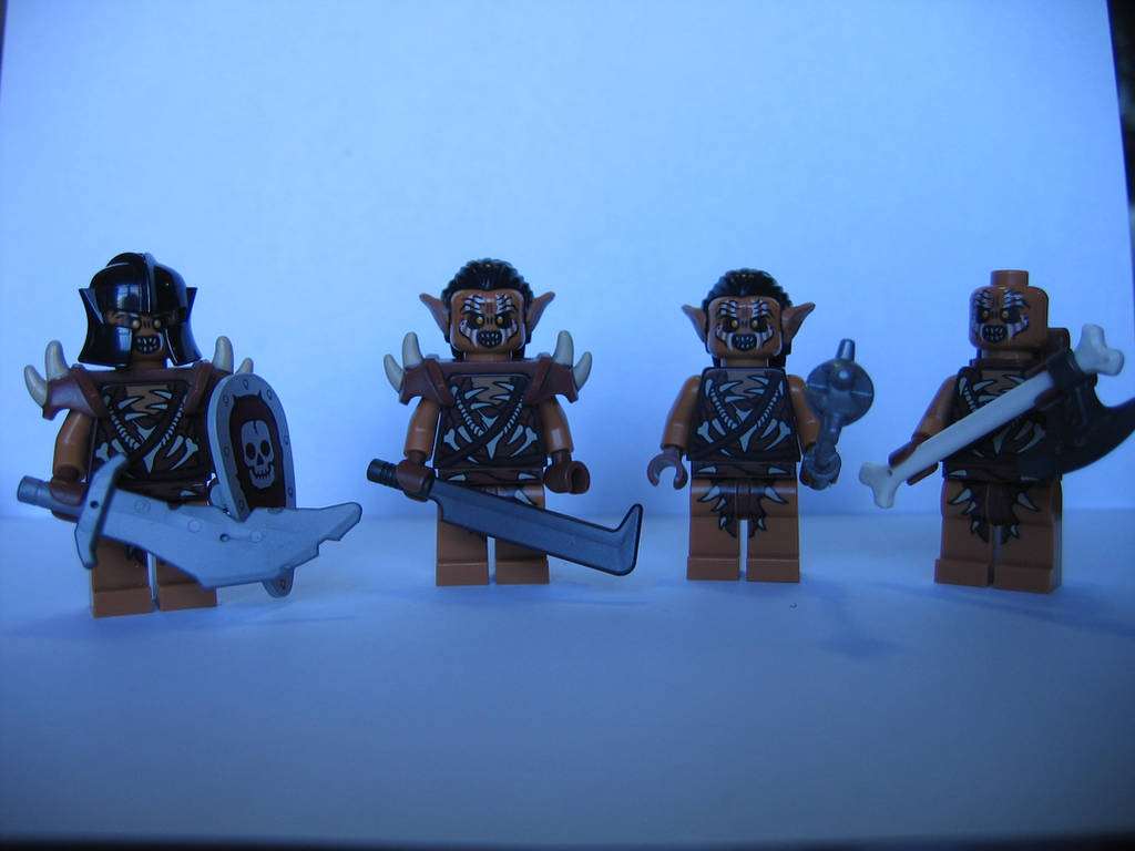 LEGO: The Current Size of my Orc Army by DWestmoore