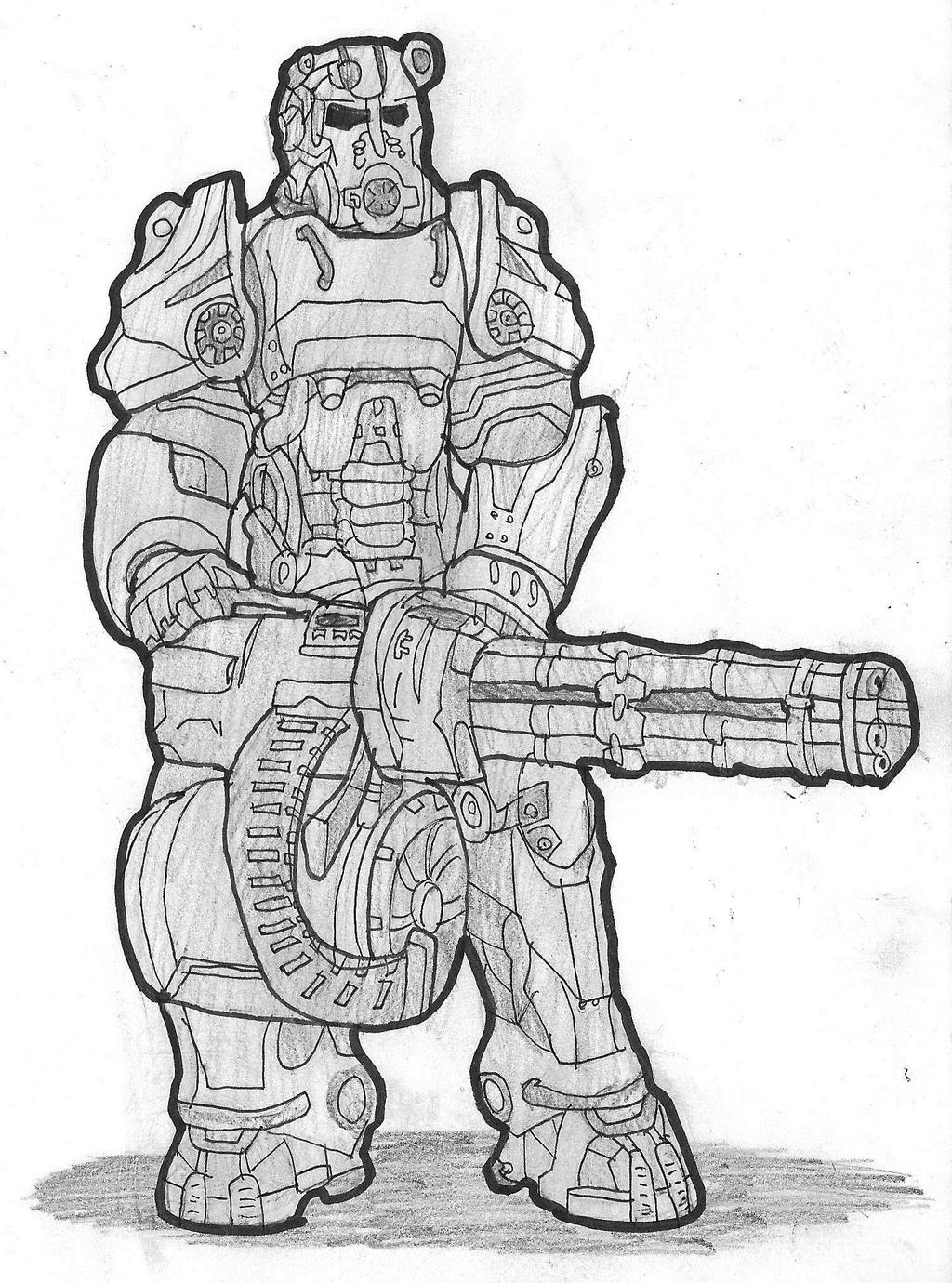 Fallout 4: Power Armor by DWestmoore on DeviantArt