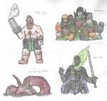 Fantasy Doodles 14
