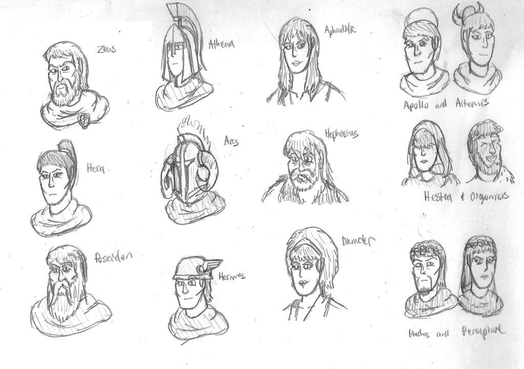 Olympian Doodles