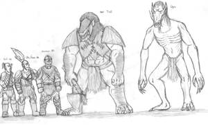 Fell Races size comparison by DWestmoore