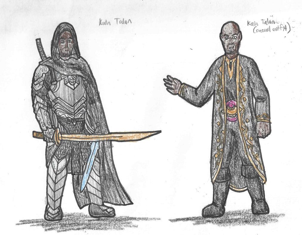 Kain Talon by DWestmoore