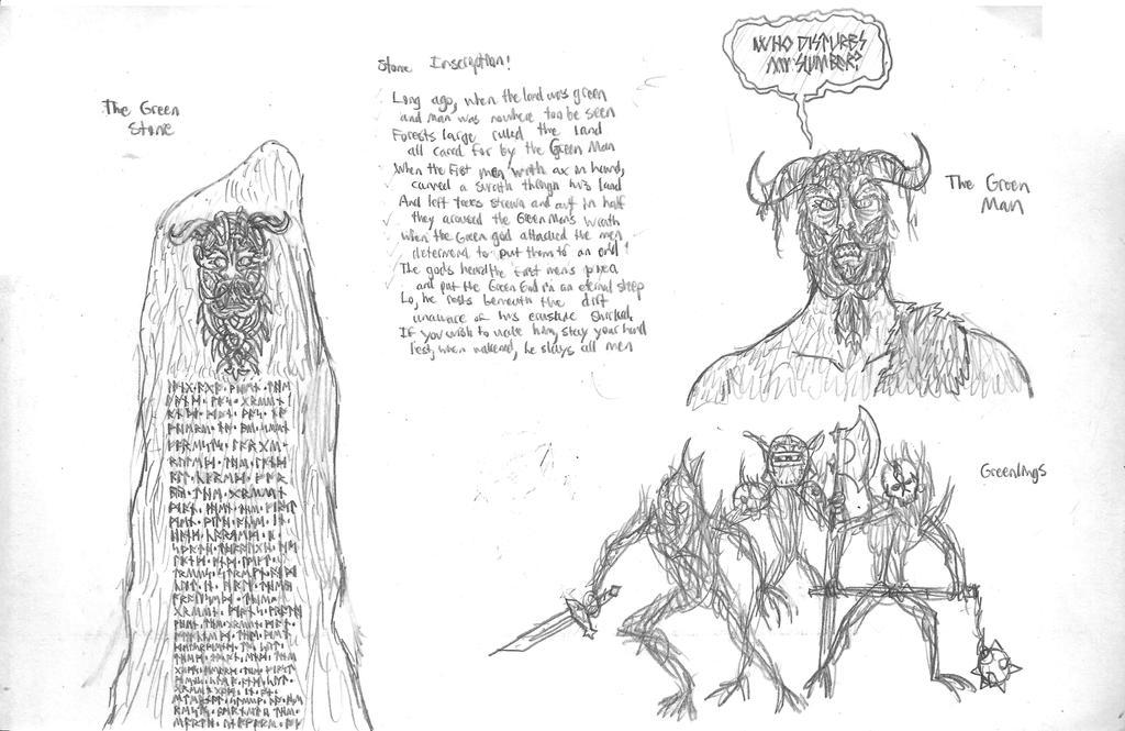 Errant: Wrath of the Green Man: Concept Art