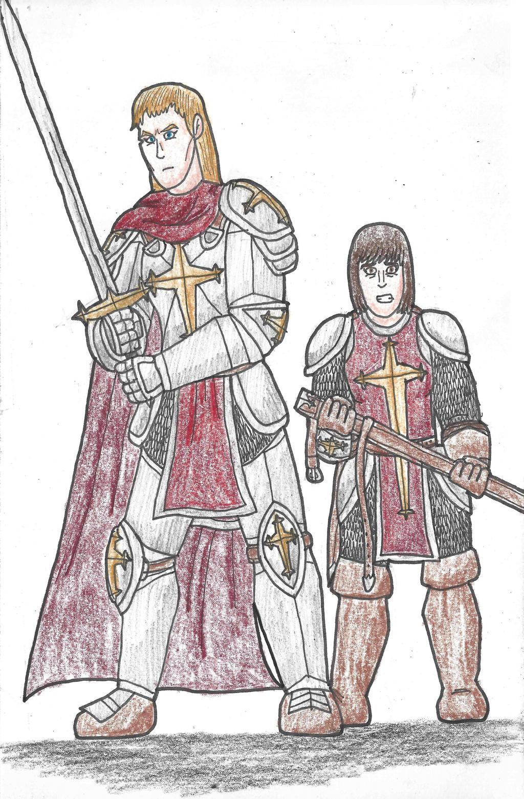 Errant: Lady Juno and Rona