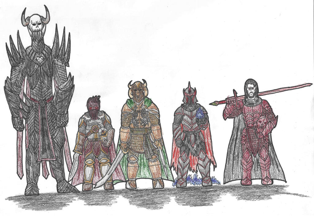 Dark Lords of the First Age