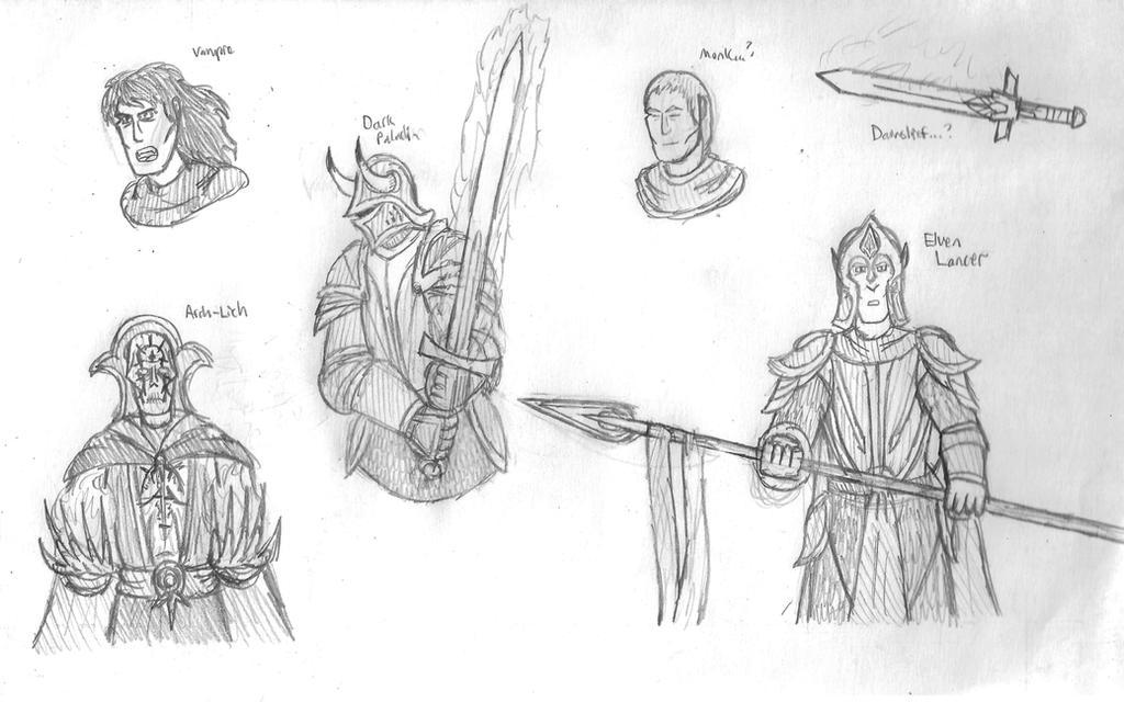 Fantasy Doodles 26
