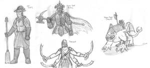 Fantasy Doodles 27