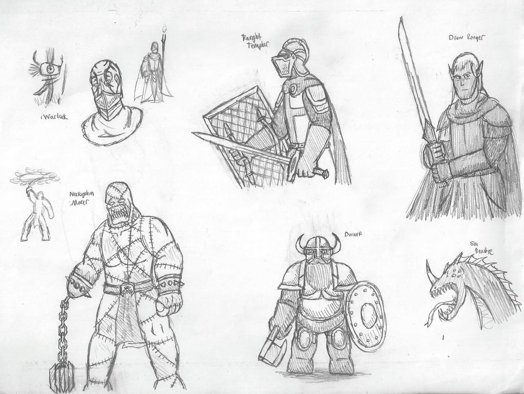 Fantasy Doodles 30
