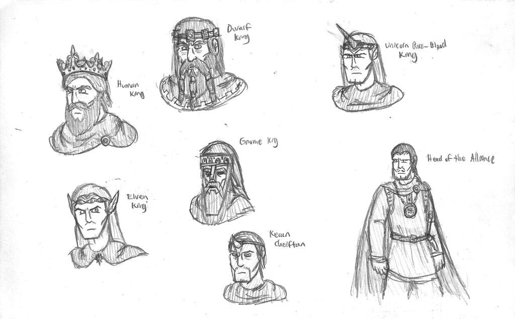 Fantasy Doodles 34