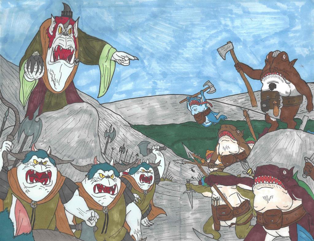 Goblins vs Froblins