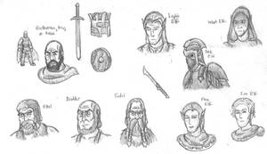 Fantasy Doodles 36