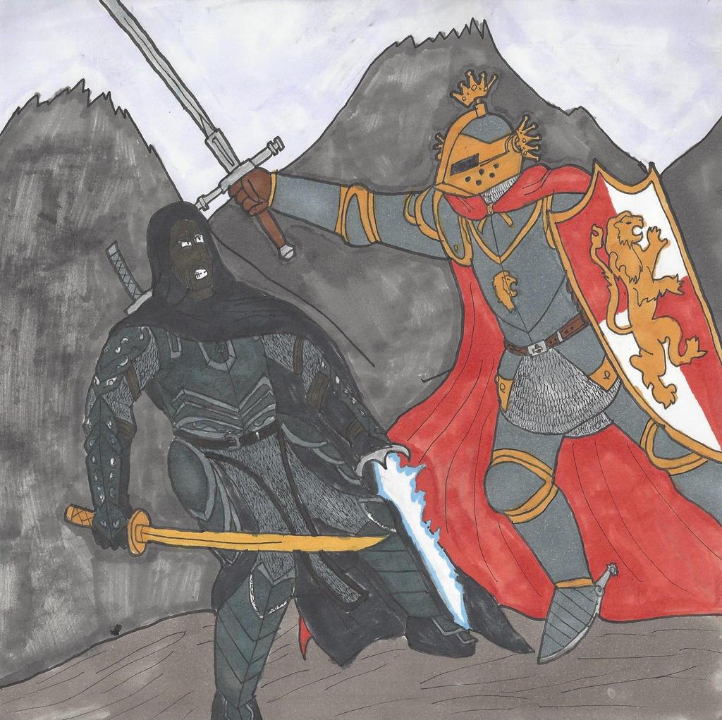 Kain Talon vs Lord Edorin Gwyn