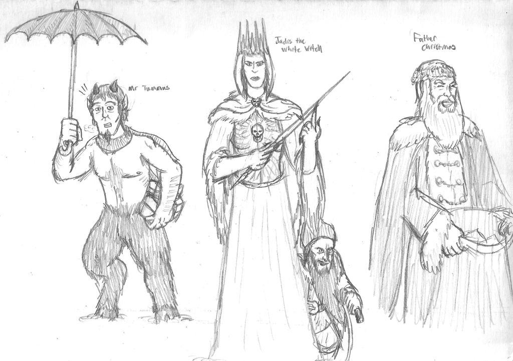 Narnia Doodles