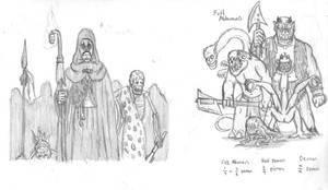 Fantasy Doodles 46