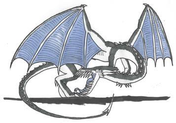Dragon of Tophet by DWestmoore