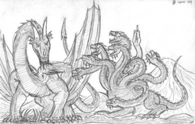 Dragon vs Hydra