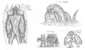 Fantasy Doodles 69