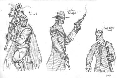 Fantasy Doodles 72