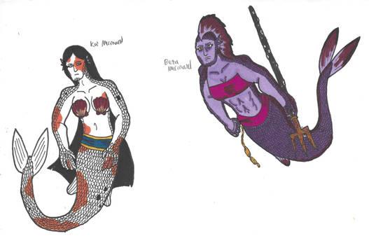 Mermaid Doodles