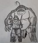 Inktober 2020: Day 1: Fish