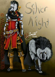 Silver Night_ Anthro and Feral