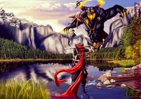 Shigan VS Asgorth the Demon Lord