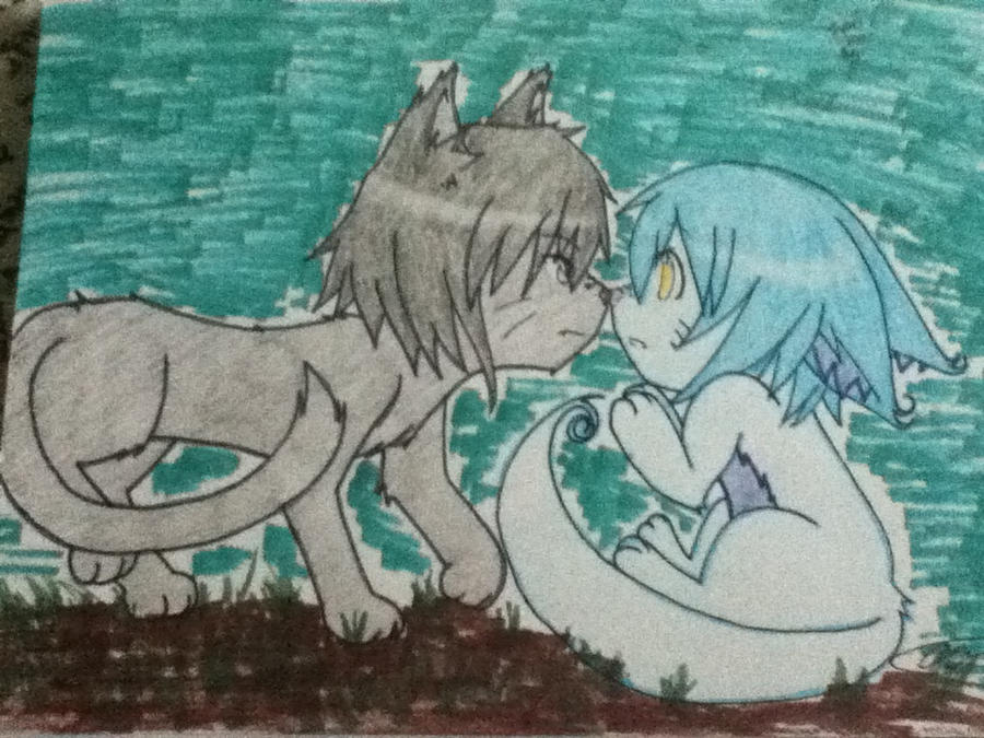 Animalized Iyori x Aeri by xLawlietL
