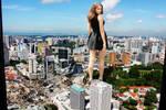 Irina Shayk smashes her way through Kuala Lumpur