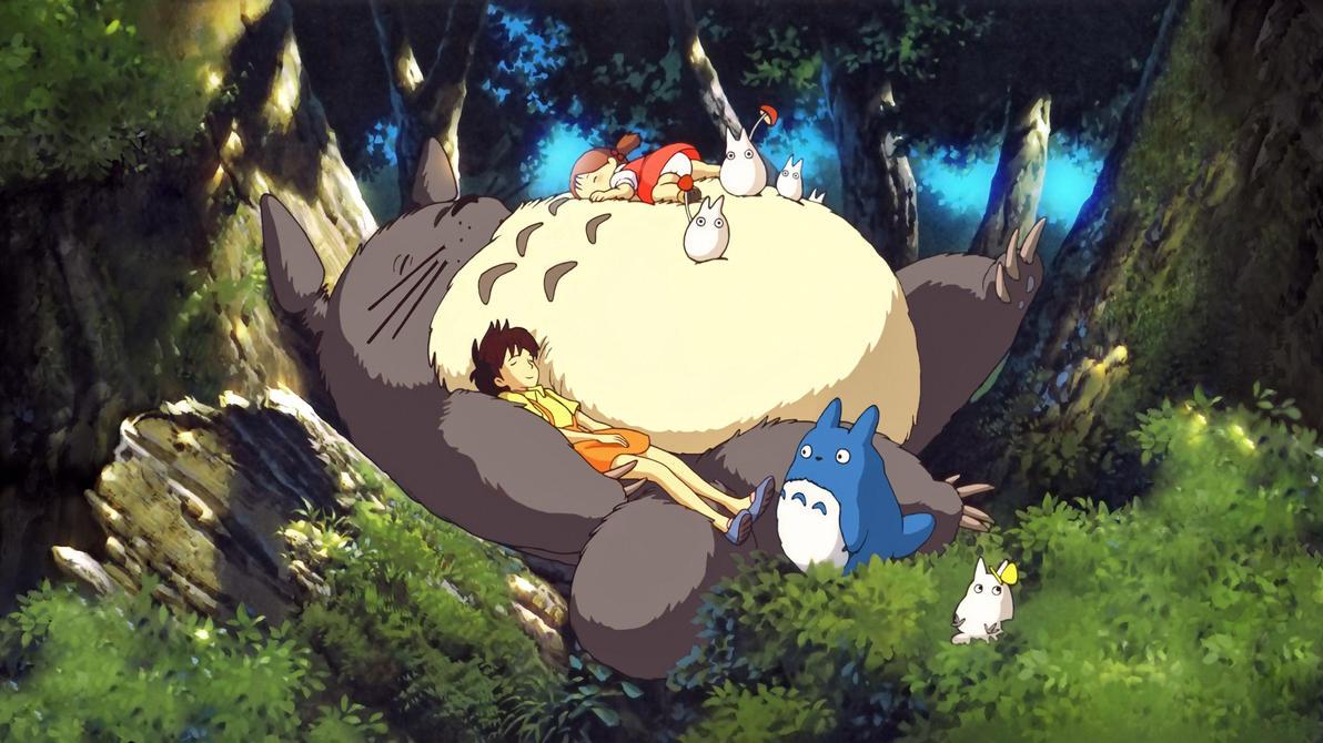 Tonari no Totoro Wallpaper 2 by ihateyouare