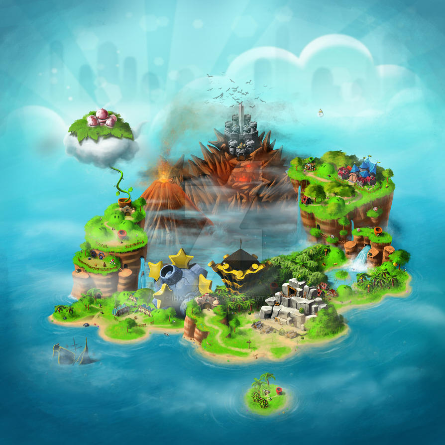 Super Mario Rpg World Map By Ihateyouare On Deviantart