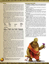 New Race for Pathfinder 1e - Torlans