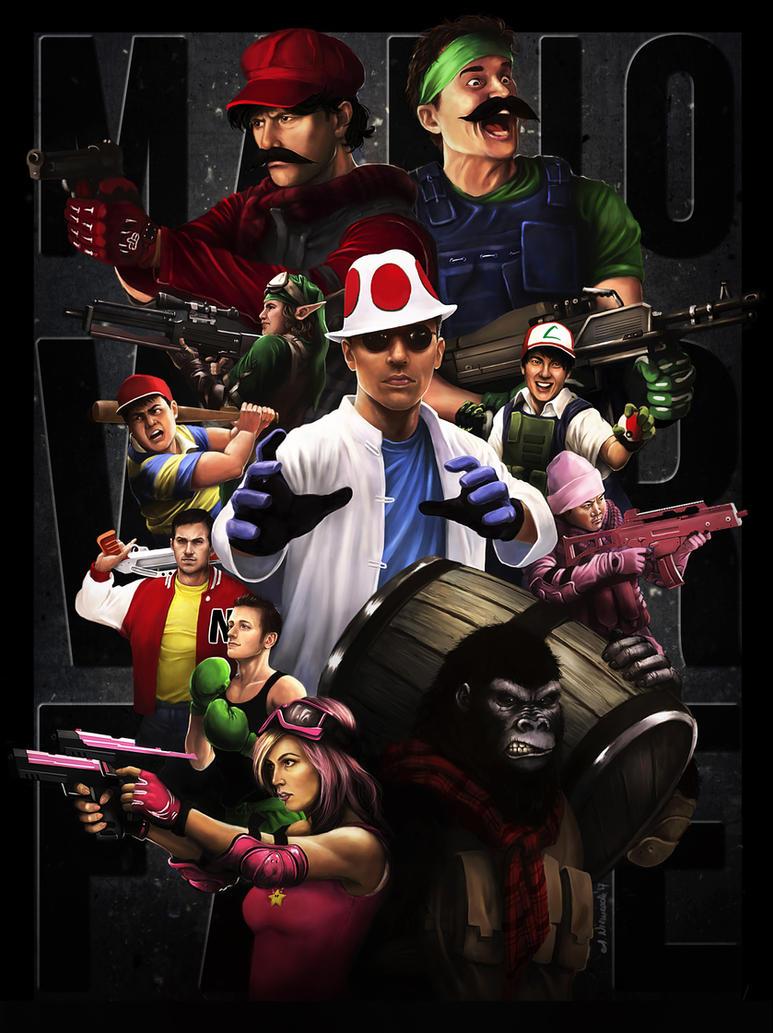 Mario Warfare by sekiq
