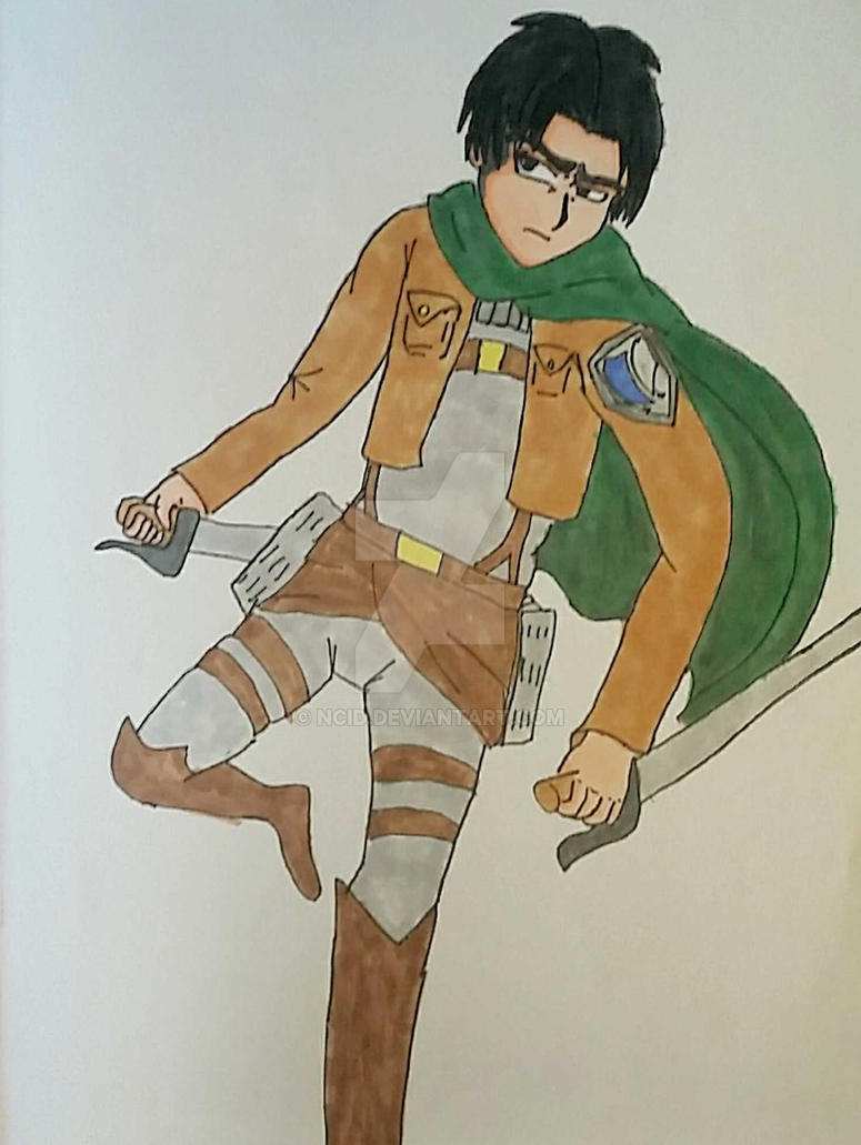 Captain Levi by Ncid
