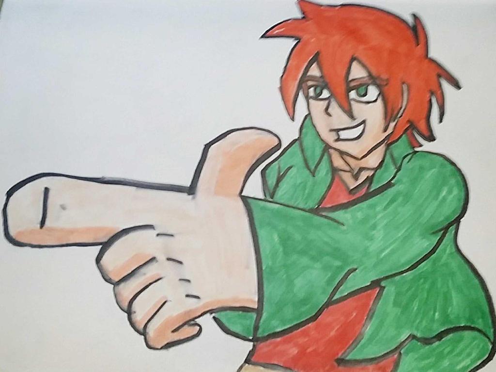 anime dude by Ncid