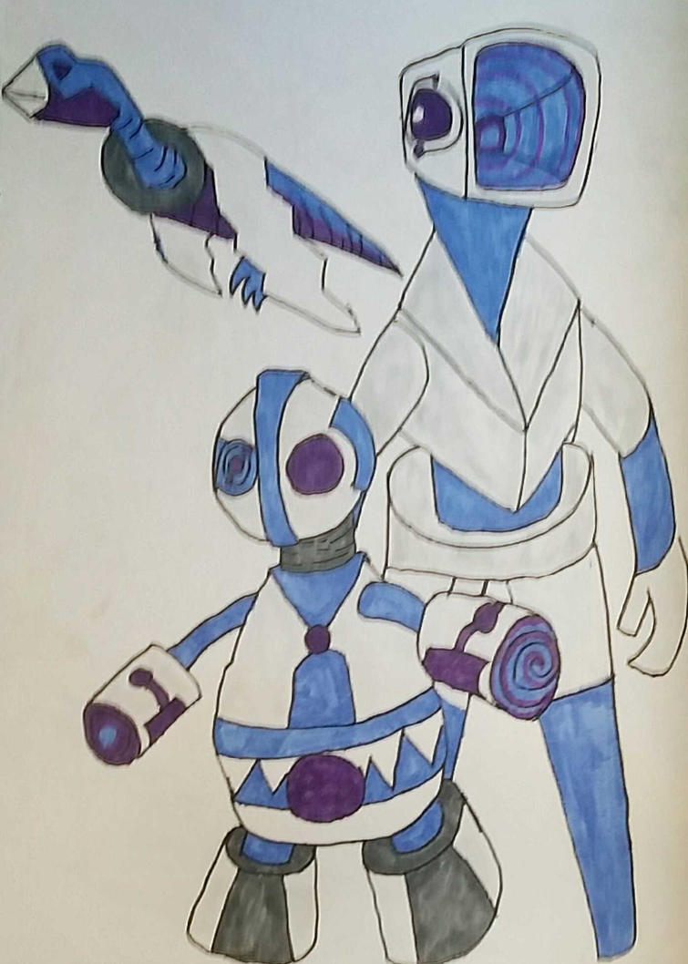 Some Robot designs by Ncid