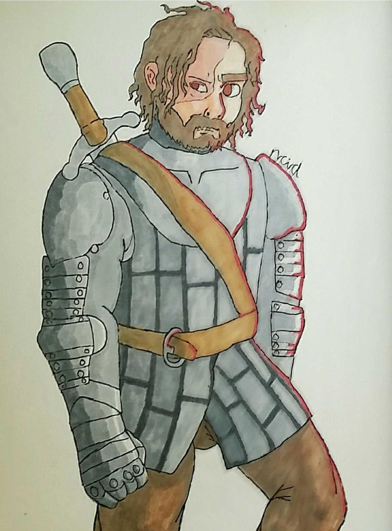 The Hound by Ncid